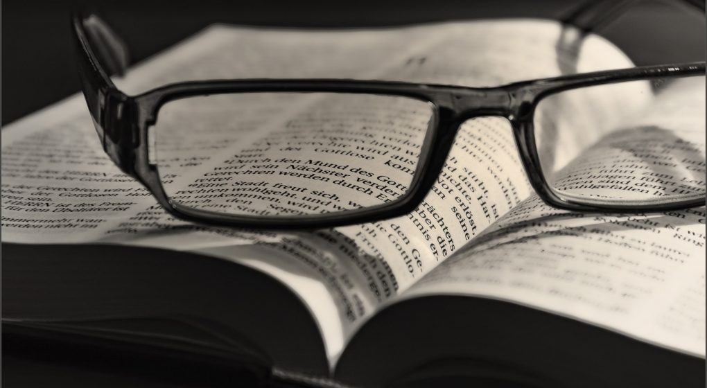 Bible and Eyeglass