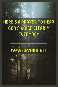 Hear God's Voice Clearly Everyday