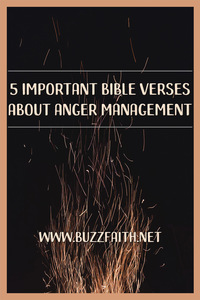 Bible Verses About Anger Management