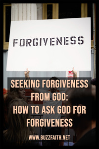 Seeking Forgiveness from God